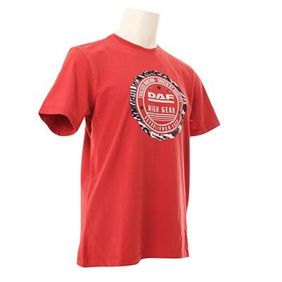 DAF Man T-shirts Rood